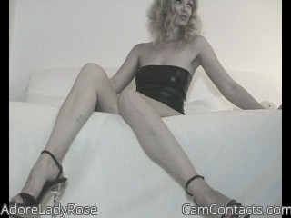 Webcam model AdoreLadyRose from CamContacts
