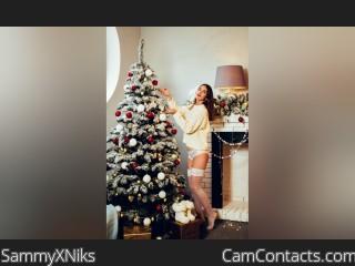 Webcam model SammyXNiks from CamContacts
