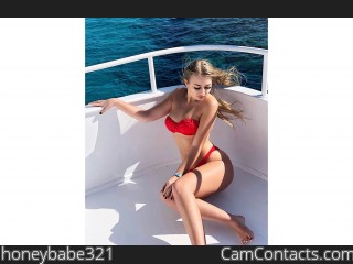 Webcam model honeybabe321 from CamContacts