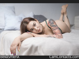 Webcam model BellaSmithX from CamContacts