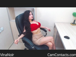 Webcam model VinaNoir from CamContacts