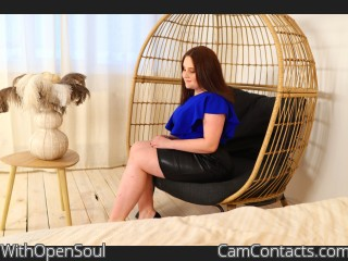 Webcam model WithOpenSoul from CamContacts