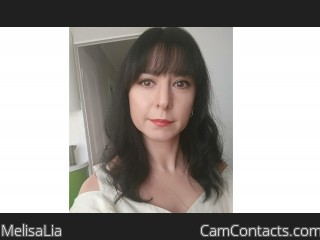 Webcam model MelisaLia from CamContacts