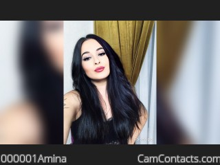 Webcam model 000001Amina from CamContacts