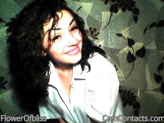 Webcam model FlowerOfbliss from CamContacts