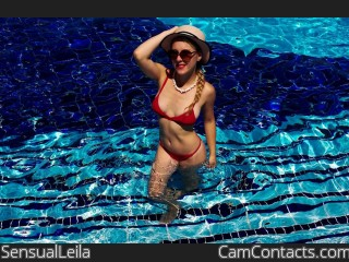 Webcam model SensualLeila from CamContacts