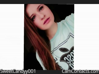 Webcam model SweetCandyy001 from CamContacts
