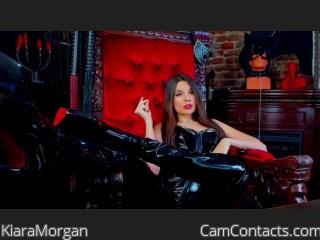 Webcam model KiaraMorgan from CamContacts