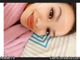 Webcam model Adelle19 from CamContacts