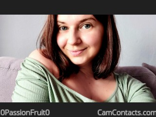 Webcam model 0PassionFruit0 from CamContacts