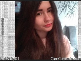 Webcam model HotBaby01 from CamContacts