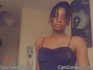 Webcam model SportyAndCute from CamContacts