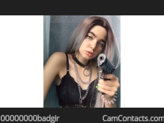 Webcam model 00000000badgir from CamContacts