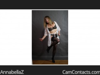 Webcam model AnnabellaZ from CamContacts