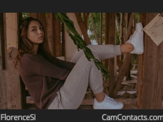 Webcam model FlorenceSi from CamContacts