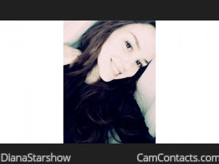 Webcam model DianaStarshow from CamContacts