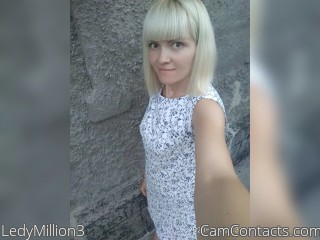 Webcam model LedyMillion3 from CamContacts
