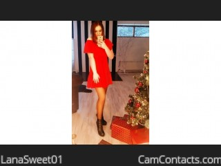 Webcam model LanaSweet01 from CamContacts