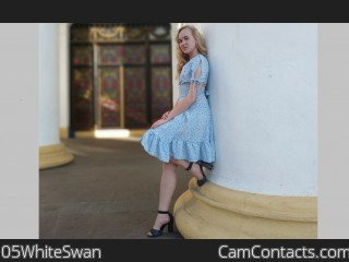 Webcam model 05WhiteSwan from CamContacts
