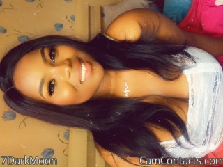 Webcam model 7DarkMoon from CamContacts