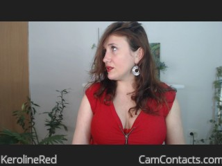 Webcam model KerolineRed from CamContacts