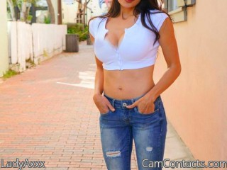 Webcam model LadyAxxx from CamContacts