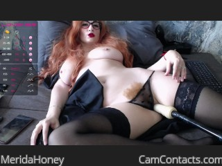 Webcam model MeridaHoney from CamContacts