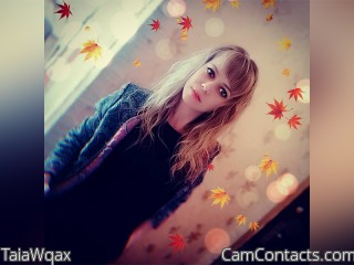 Webcam model TaiaWqax from CamContacts
