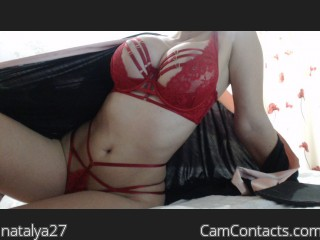 Webcam model natalya27 from CamContacts