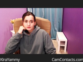 Webcam model KiraYammy from CamContacts
