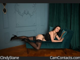 Webcam model CindyStane from CamContacts