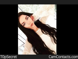 Webcam model T0pSecret from CamContacts