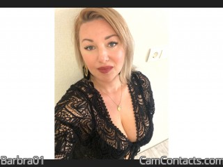 Webcam model Barbra01 from CamContacts