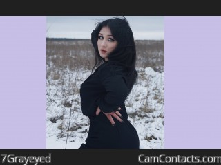 Webcam model 7Grayeyed from CamContacts