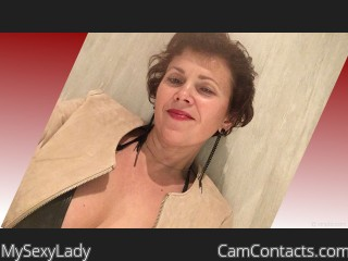 Webcam model MySexyLady from CamContacts