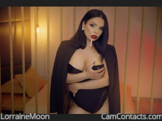 Webcam model LorraineMoon from CamContacts