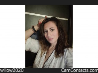 Webcam model willow2020 from CamContacts