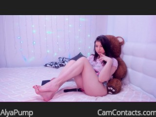 Webcam model AlyaPump from CamContacts