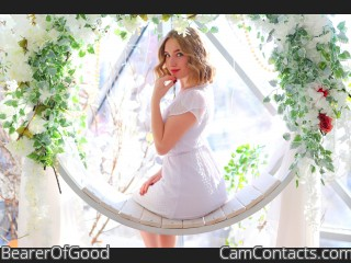 Webcam model BearerOfGood from CamContacts
