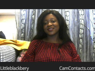 Webcam model Littleblackbery from CamContacts