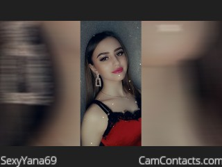 Webcam model SexyYana69 from CamContacts