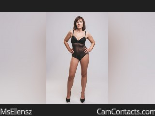 Webcam model MsEllensz from CamContacts