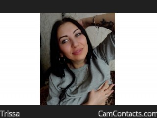 Webcam model Trissa from CamContacts