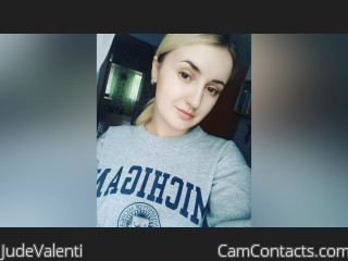 Webcam model JudeValenti from CamContacts