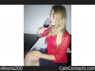 Webcam model viktoria200 from CamContacts