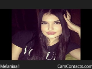 Webcam model Melaniaa1 from CamContacts