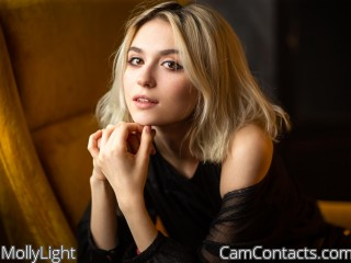 Webcam model MollyLight from CamContacts