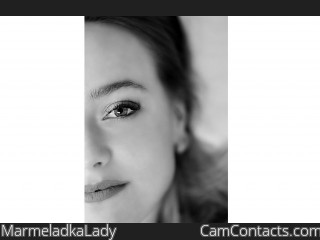 Webcam model MarmeladkaLady from CamContacts