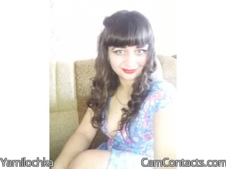 Webcam model Yamilochka from CamContacts