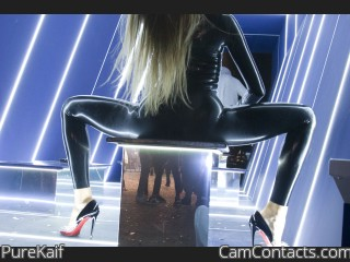 Webcam model PureKaif from CamContacts